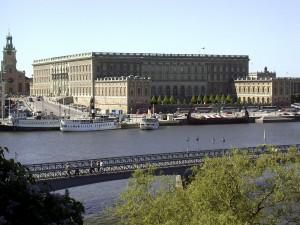 Kungliga slottet, Stockholm. Exterišr.