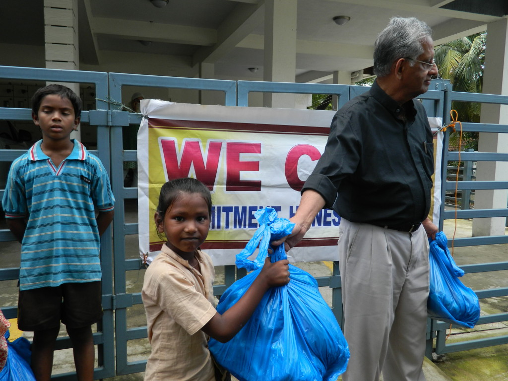 Distribution of Relief Materials (03)